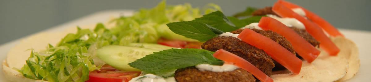 Falafel wide